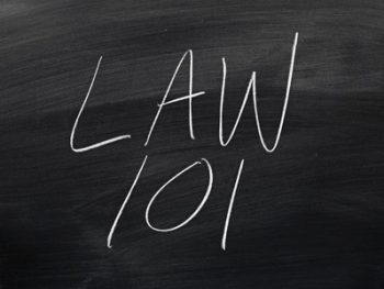Law for non-lawyers