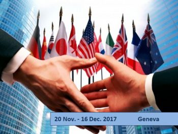 International negotiations and policy making