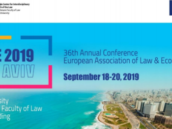 Annual Conference of the European Association of Law and Economics